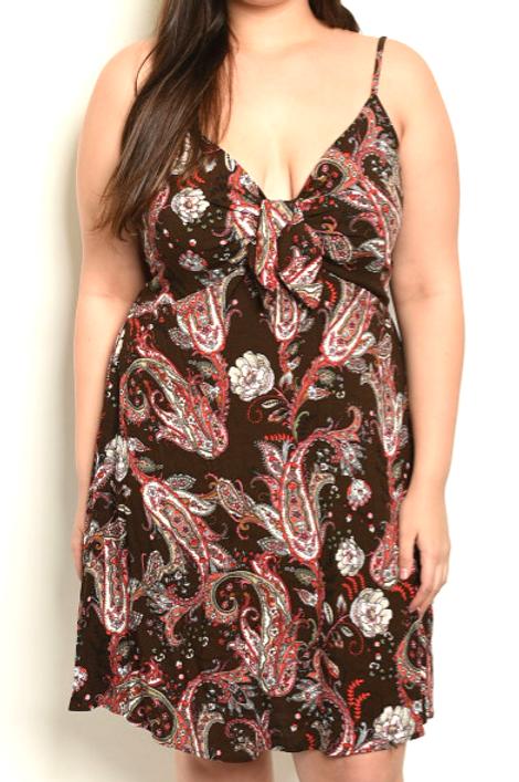 Deity Dragon Garden Dress