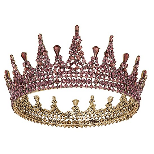 Rhinestone Queen Crown