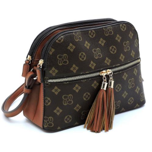 Brown Luxe Organizer Bag