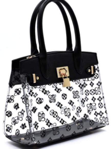 Deity Clear Padlock Bag
