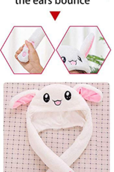 Bouncy Ears Rabbit Hat
