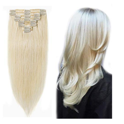 Deity Platinum blonde Extensions
