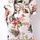 Thumbnail: The Tropics Floral Bodysuit Robe Set