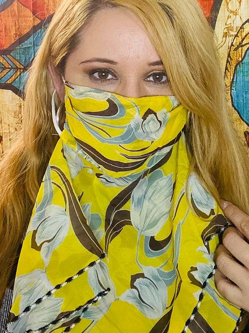 Mellow Yellow Fashion Mask