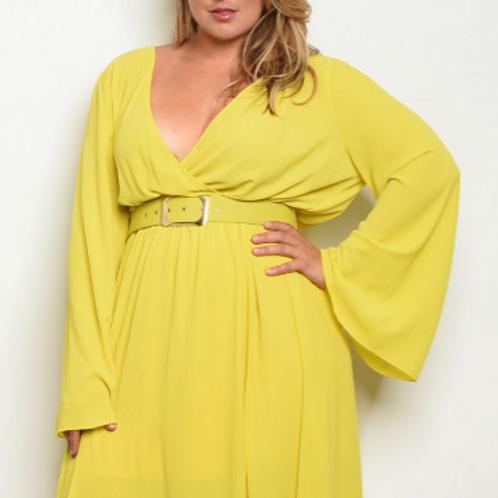 Lemon Drop Maxi Dress