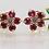 Thumbnail: Deity Dainty Floral Garden(Ruby & Emerald)
