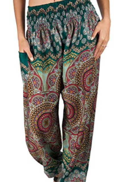 Aztec Princess Harem Pants