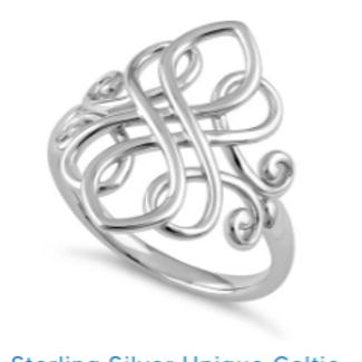 Celtic Crown Ring