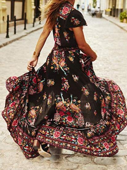 Night Garden Dress