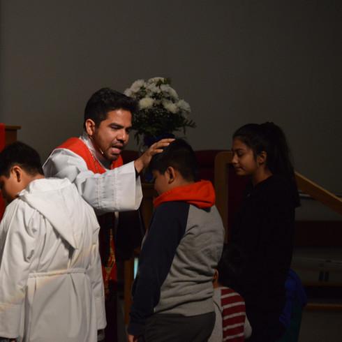 bendicion de los niños