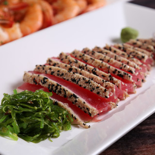 Ahi at get hooked grill