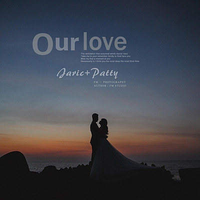 Jaric+Patty 風格婚紗