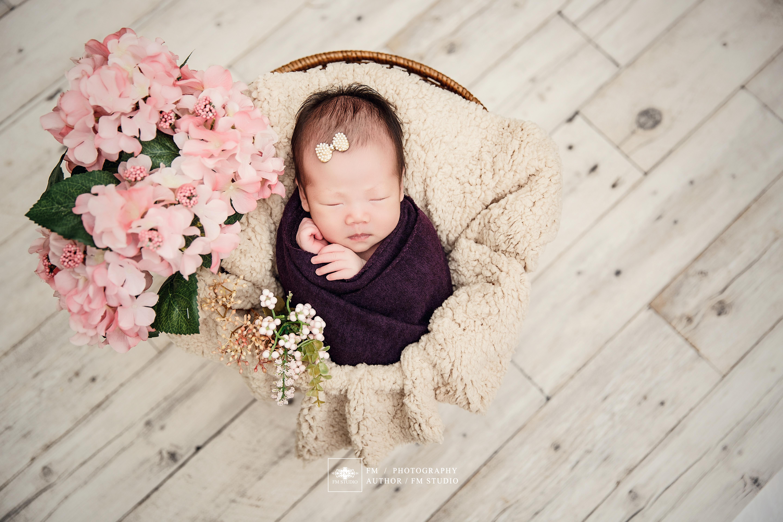 小米妮新生兒寫真