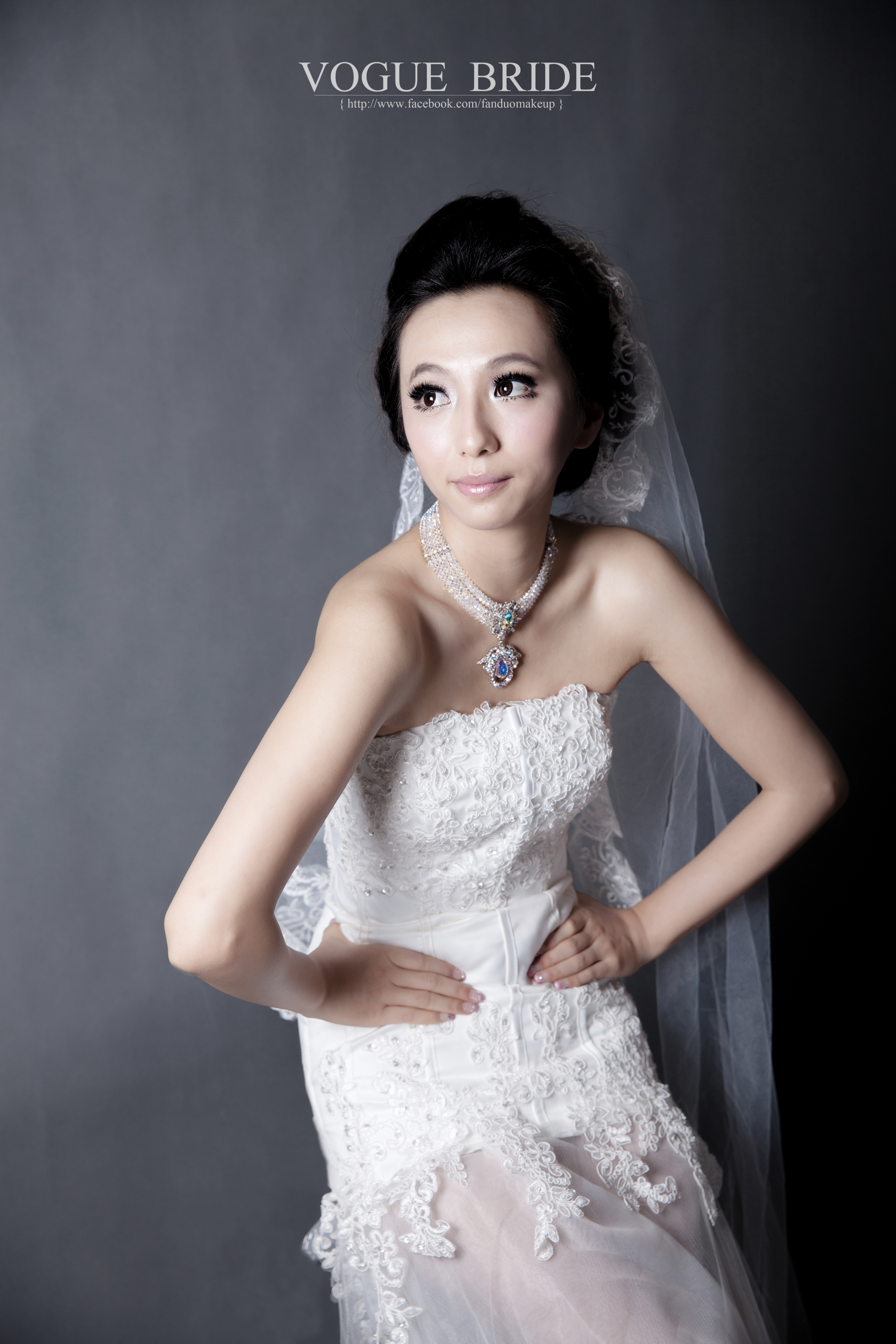 韓式婚紗造型作品
