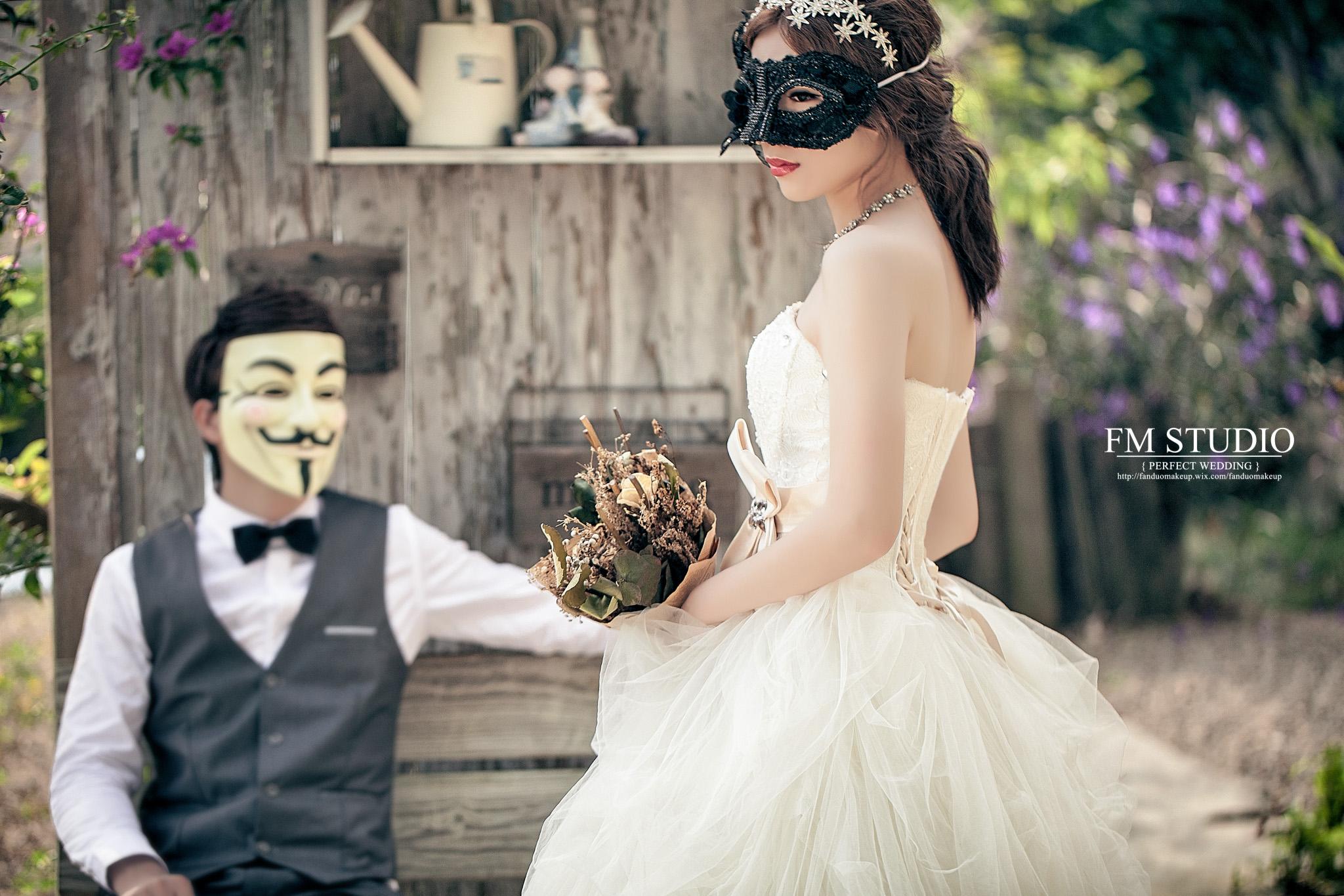 睿兒+綺綺自主婚紗