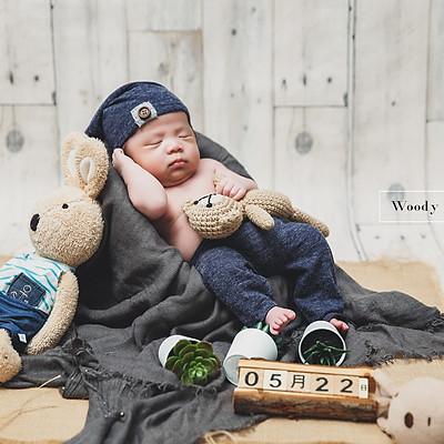 Woody 新生兒寫真