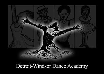 Detroit-Windsor Dance Academy Logo