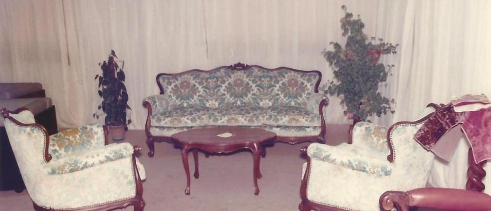 seconda mostra della sedia e del mobile