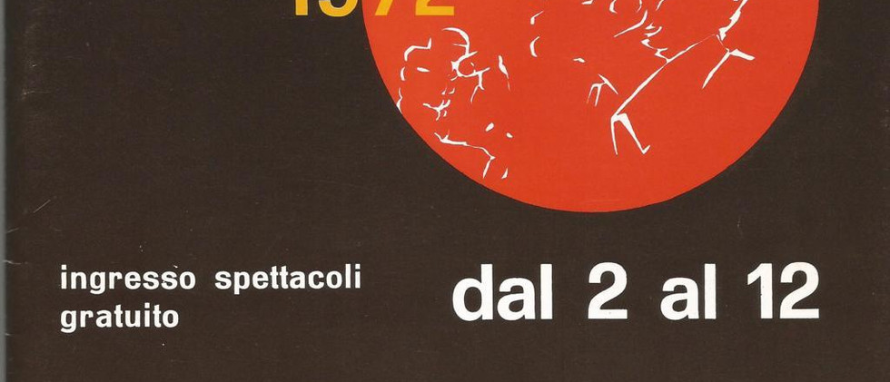 settembre manzanese 1972 depliant (FILEm