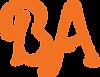 personal script logo monogram orange.png