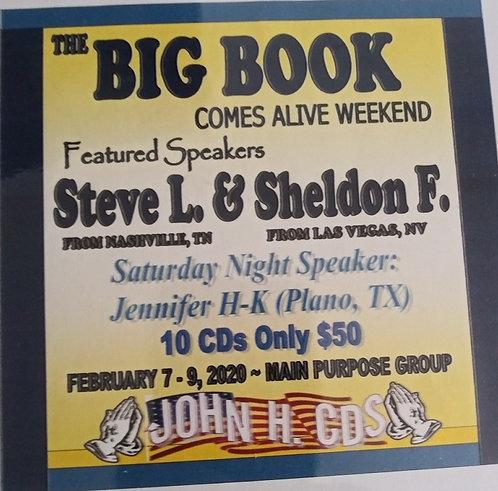 Big Book Comes Alive - Feb. 2020 - Steve L. and Sheldon F.