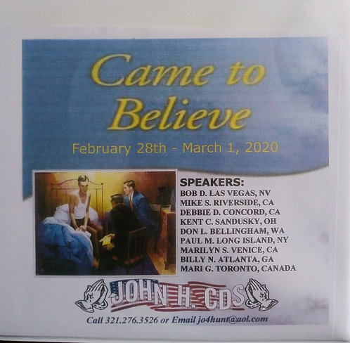 Came to Believe - Las Vegas 2020 - Bob D. and Others