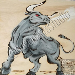 "Sold_ ""Taurus Wood-Burning"""