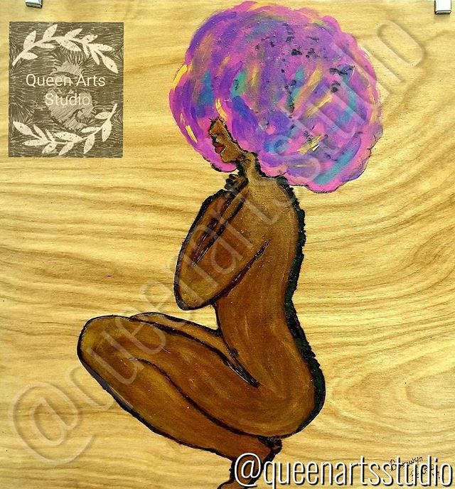 """Chocolate Cotton Candy"" Wood-burning (12x12) #painting #paintings #painted #painter #paints #painte"