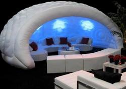 structure gonflable salon
