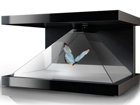 Vitrine Holographique 3D : LA plv dont tout le monde parle actuellement !