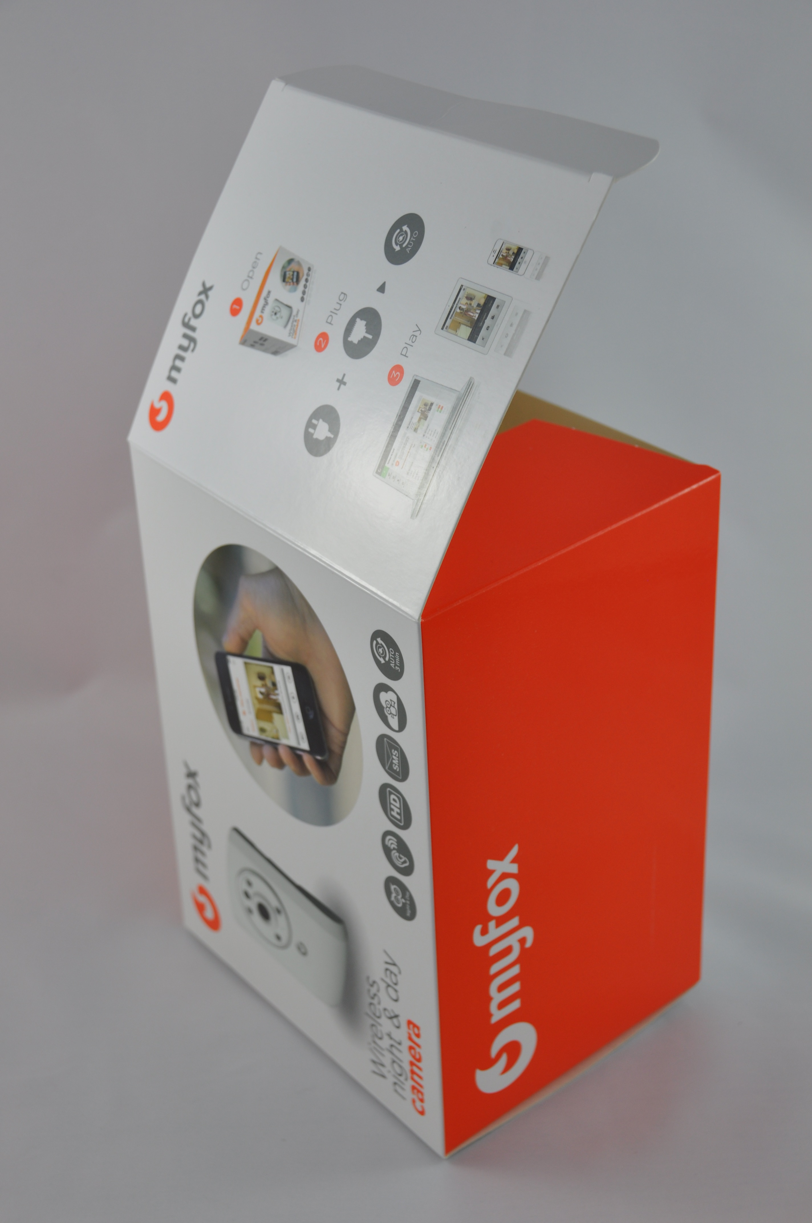 packaging produit Myfox - Somfy Protect