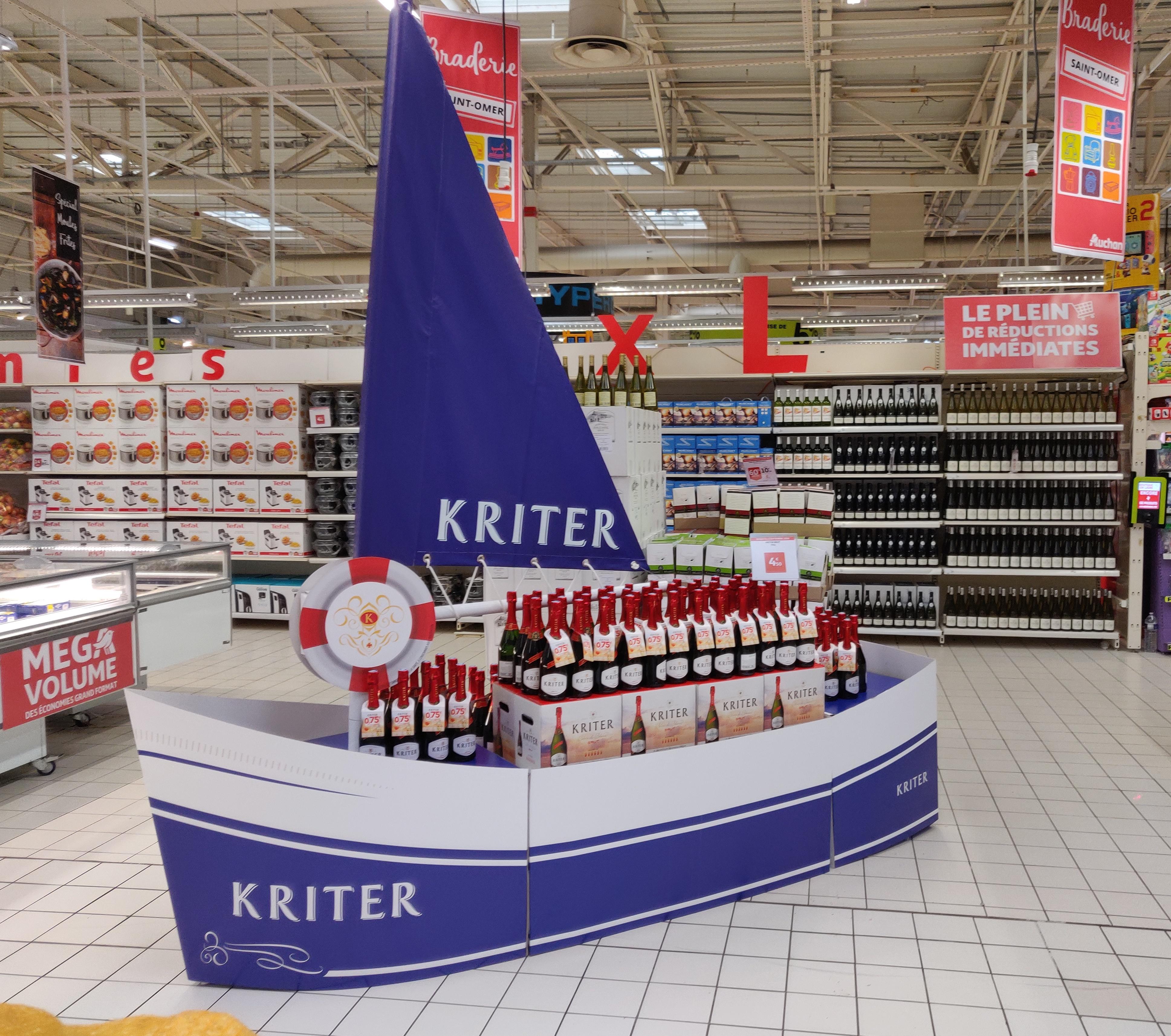 Bateau Kriter  - Auchan Saint Omer