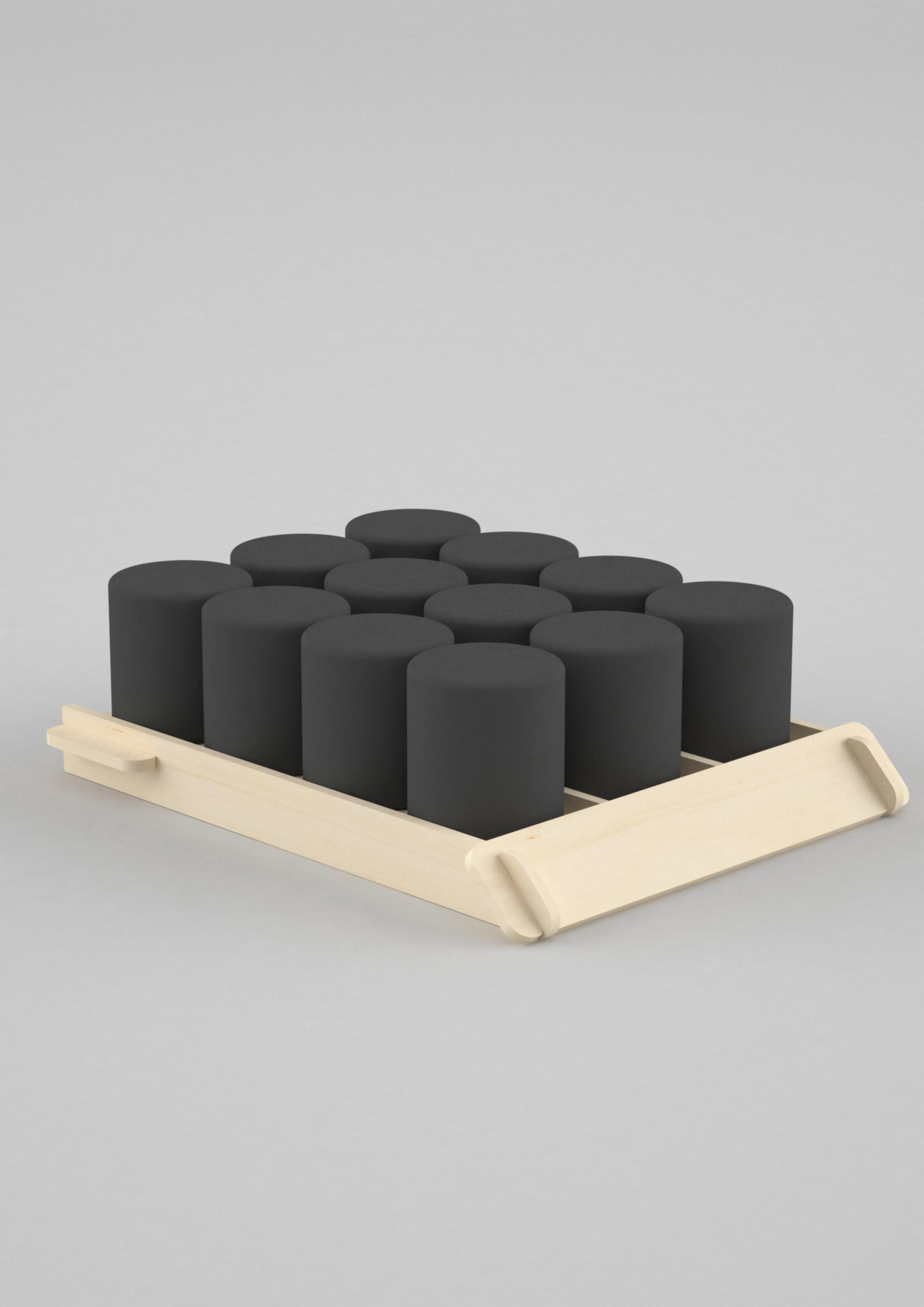 Séparateur de linéaire bois