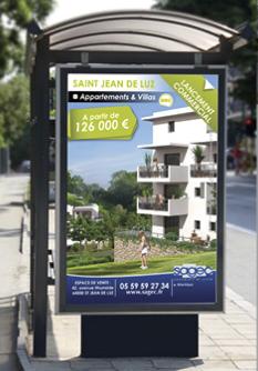 affichage urbain - abribus