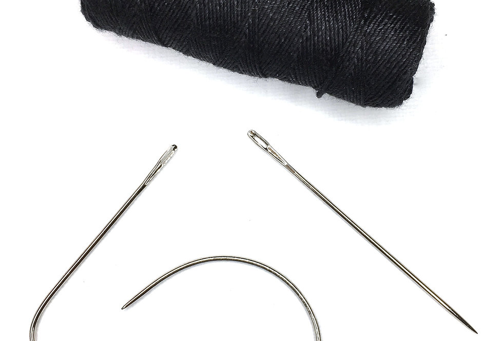 x3 Weave Needles + Thread