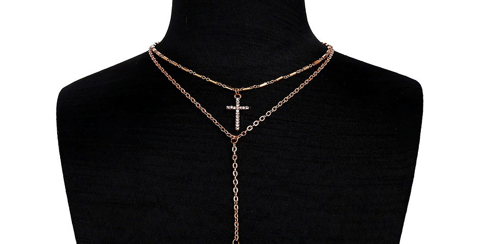 18K Gold Plated 'Shine Through Faith' Pendant Necklace