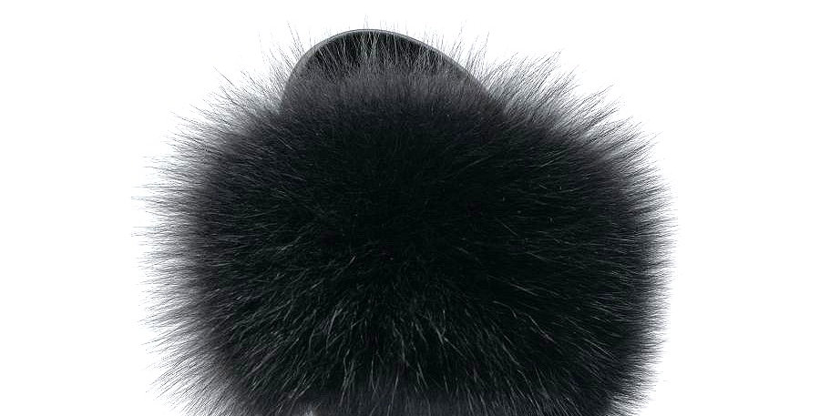'Caipirinha' Fur Sliders