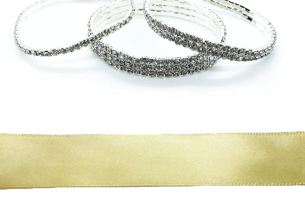 'A Million Dollars' Diamante Anklet