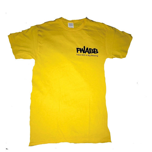 Left Chest Fwabb Tee Yellow OR Red