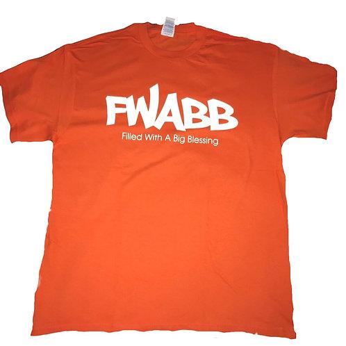 Orange Fwabb Tee