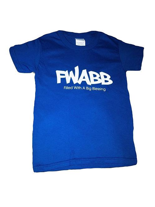 kids Blue FWABB Tee