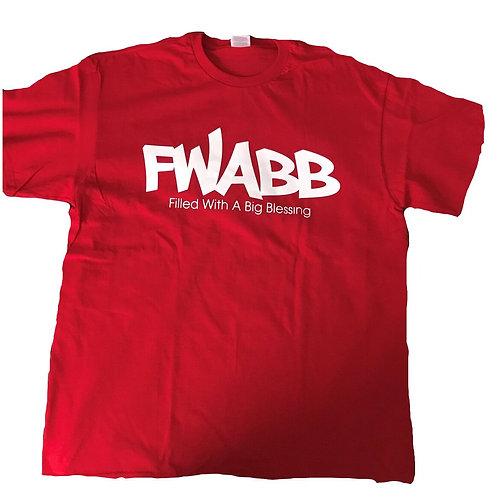 Red Fwabb Tee