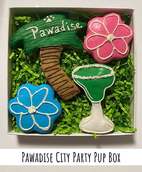 Pawadise City Party Pup Box