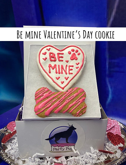 Be mine cookie box