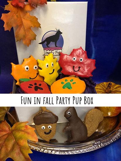 Fun in fall party pup box
