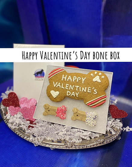 Happy Valentine's Day bone box