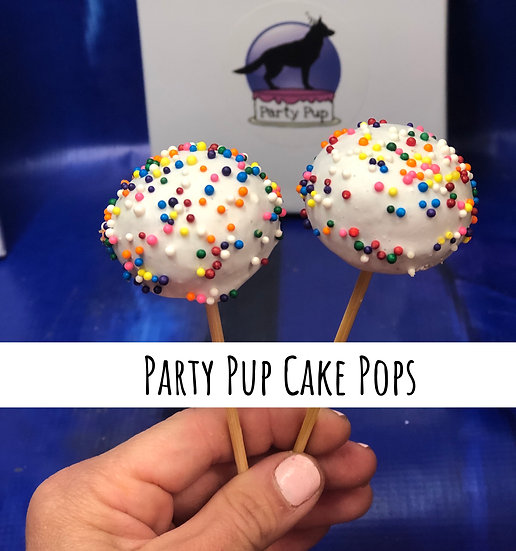 Party Pup Cake Pops