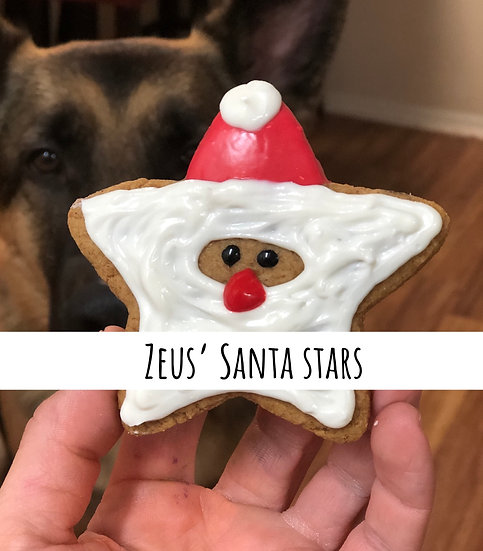 Zeus' Santa stars