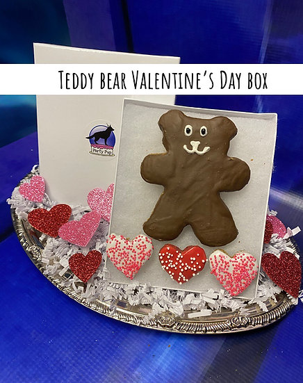 Teddy Bear Valentine's Day box