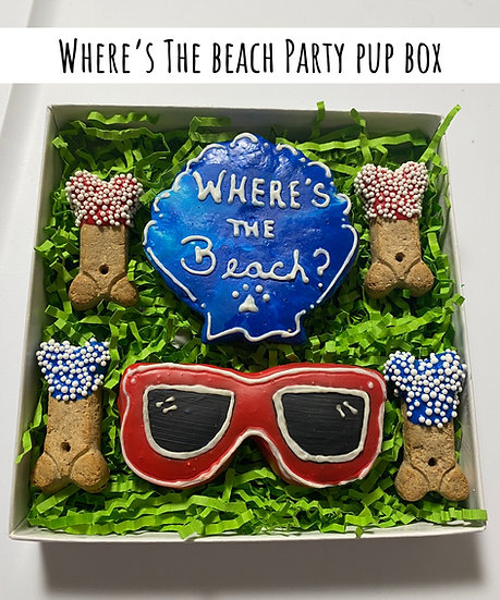 Where's The Beach Party Pup Box
